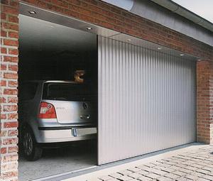 Откатные автоматические гаражные ворота