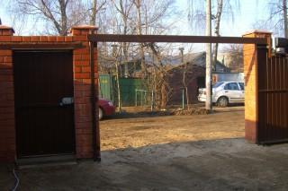 Рама для подвесных откатных ворот