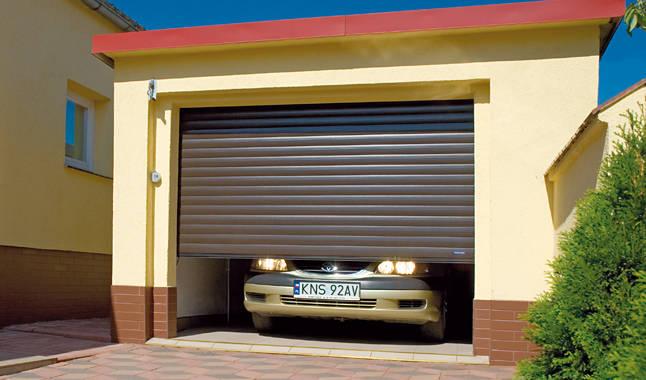 Роллетные гаражные ворота Wisniowski