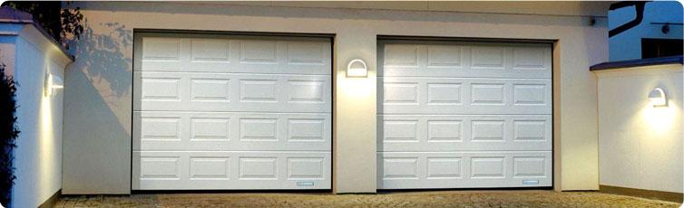 Секционные гаражные ворота «Алютех»