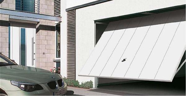 Подъёмно-поворотные автоматические гаражные ворота