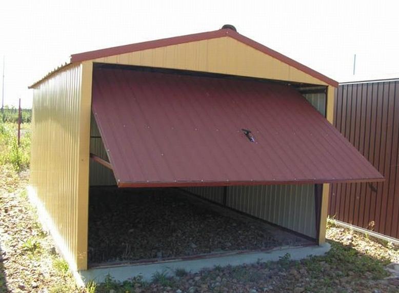 Построить гараж дёшево