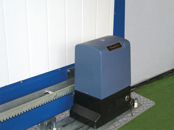 Привод для откатных механизмов автоматических ворот