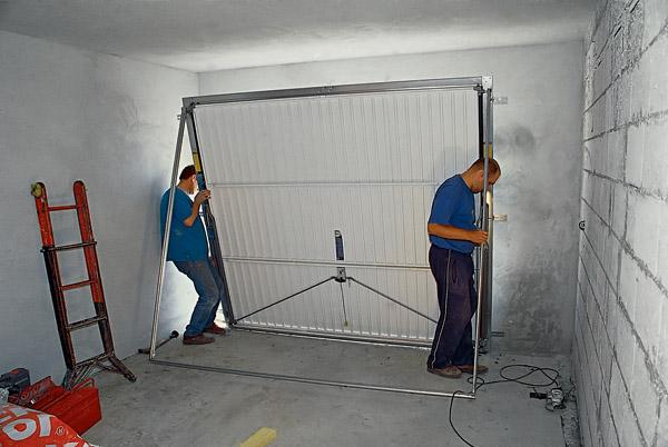 Процесс сборки автоматических ворот