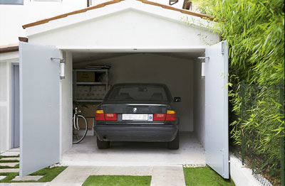 Автоматические распашные гаражные ворота