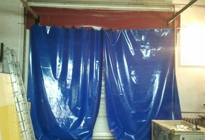 ПВХ-штора в гараж