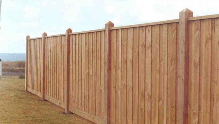 Забор для дачи «Классический»