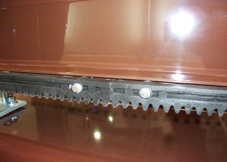 Пластиковая зубчатая рейка откатных ворот серии ADS 400