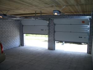 Как своими руками сделать гаражные ворота