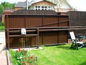 Подвесные автоматические откатные ворота