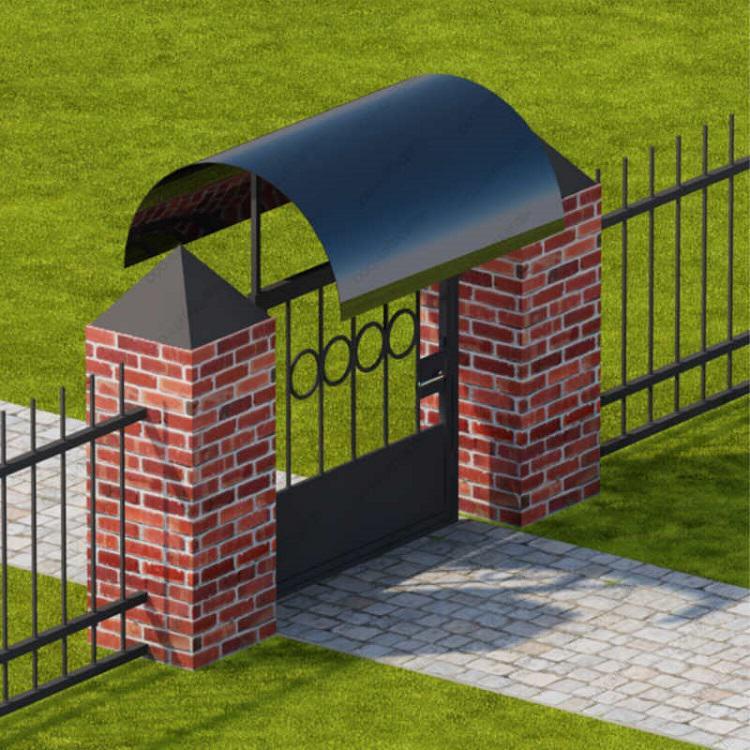 Как сделать навесы своими руками на ворота
