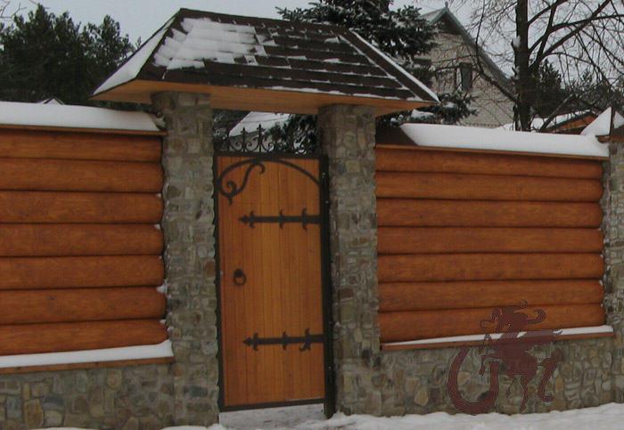 Деревянная калитка на даче своими руками