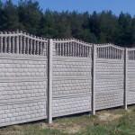 Фото бетонных заборов