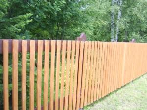 забор из штакетника фото