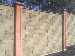 забор из французского камня фото