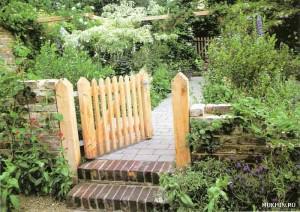 Фото садовой калитки мини