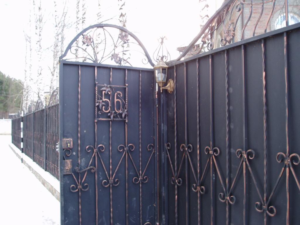 Сделать ворота с калиткой во двор самому недорого купить ворота под профнастил в омске