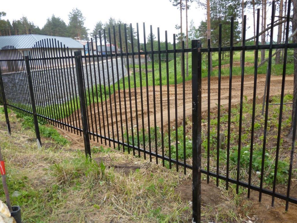 Забор из прутка металлического цена ворота сдвижные автоматические в люберцах
