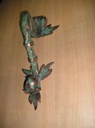 Фото ручки на калитку кованая