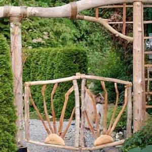 Фото садовой калитки воротами